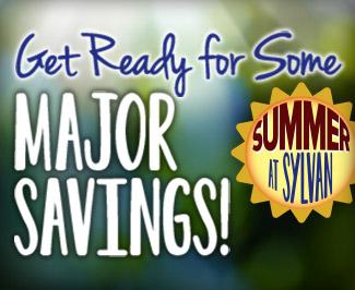 Get ready for major savings this summer at Sylvan.