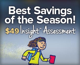 Best Savings of the Season! $49 Insight Assessment
