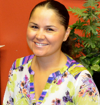 ALMA URIBE, PROGRAM MANAGER FOR SCHOOL PARTNERSHIPS
